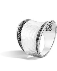 John Hardy - 'classic Chain' Small Saddle Ring - Lyst