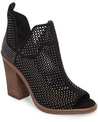 Vince Camuto - Kiminni Open Toe Bootie - Lyst