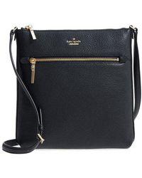 Kate Spade - Oakwood Street - Malia Leather Crossbody Bag - - Lyst
