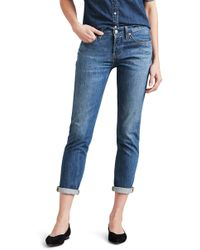 Levi's - 501 Ankle Taper Jeans - Lyst