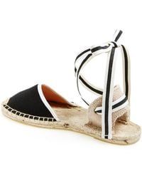 e31d66cf9eb Lyst - Soludos Chantilly Lace Original in White