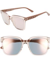 Juicy Couture - Core 55mm Square Sunglasses - - Lyst
