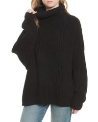Free People - Swim Too Deep Turtleneck Sweater - Lyst