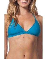 Rip Curl - Classic Surf Crossback Bikini Top - Lyst