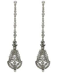 Ben-Amun - 'deco' Crystal Drop Earrings - Lyst