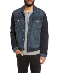 7 For All Mankind - 7 For All Mankind Denim Trucker Jacket - Lyst