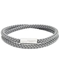 Tateossian - Rubber Cable Wrap Bracelet - Lyst