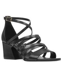 Nine West - Youlo Strappy Cage Sandal - Lyst