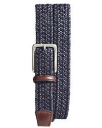 Torino Leather Company - Woven & Leather Belt - Lyst
