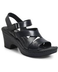 Børn - B?rn Cubera Platform Sandal - Lyst