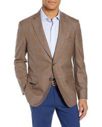 John W. Nordstrom - John W. Nordstrom Traditional Fit Windowpane Wool Sport Coat - Lyst