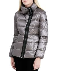 CALVIN KLEIN 205W39NYC - Asymmetrical Zip Down Jacket - Lyst