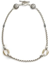 Konstantino - Classics Daphne Link Necklace - Lyst