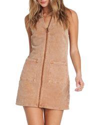 Billabong - Foxy Corduroy Dress - Lyst