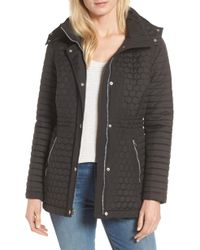Andrew Marc - Honeycomb Quilted Jacket - Lyst