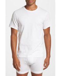 Calvin Klein   2-pack Crewneck T-shirt, White   Lyst