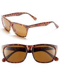 631bbe1a58 Smith -  tioga  57mm Polarized Sunglasses - Vintage Havana  Polar Brown -  Lyst