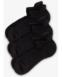 Zella - 3-pack Tab Back Socks - Lyst