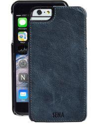 Sena - Heritage Lugano Leather Iphone 6 Plus/6s Plus Case - Lyst