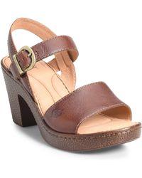 696c1b660fcc Lyst - Women s Born Sandal heels On Sale