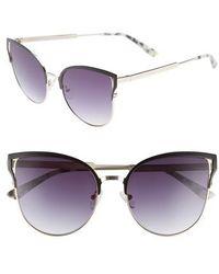 Chelsea28 - Hazel 57mm Cat Eye Sunglasses - - Lyst