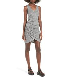 Love, Fire - Ruched Tank Dress - Lyst