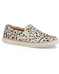UGG - Ugg Soleda Genuine Calf Hair Slip-on Sneaker - Lyst