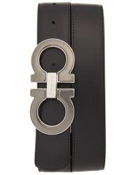 Ferragamo - Reversible Leather Belt - Lyst