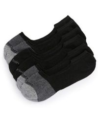 Calvin Klein - 3-pack No-show Socks - Lyst
