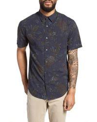 Vince - Classic Fit Tropical Short Sleeve Sport Shirt - Lyst