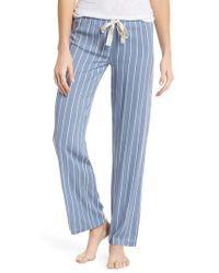 Joe's - Wide Leg Pajama Pants - Lyst