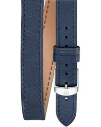 Michele 16mm Leather Watch Strap