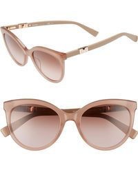 Max Mara - Jeweliis 54mm Gradient Cat Eye Sunglasses - - Lyst