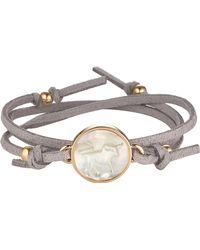 Asha - Zodiac Suede Wrap Bracelet - Lyst
