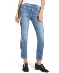 7 For All Mankind - 7 For All Mankind Roxanne Ankle Jeans - Lyst