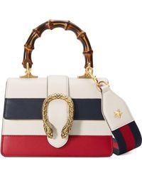 ada3fde938d7 Gucci - Dionysus Leather Top Handle Bag - Lyst