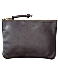 Filson - Medium Leather Zipper Pouch - Lyst