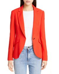 4e1884768 Lyst - Ted Baker Soreli Tailored Jacket in Pink