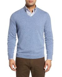 John W. Nordstrom - John W. Nordstrom Cashmere V-neck Sweater - Lyst
