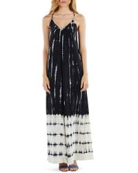 Michael Stars - Babydoll Maxi Dress - Lyst