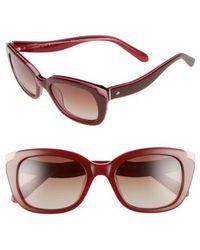 Kate Spade - 'danella' 50mm Sunglasses - Lyst