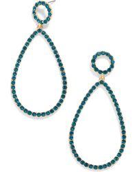 BaubleBar - Eleni Teardrop Earrings - Lyst