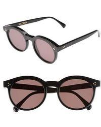 Wildfox - Harper Zero 53mm Round Keyhole Sunglasses - Lyst