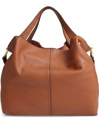 Vince Camuto - Niki Leather Tote - Lyst