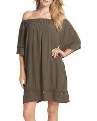 Muche Et Muchette - City Wide Off The Shoulder Cover-up Dress - Lyst