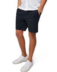TOPMAN - Pinstripe Shorts - Lyst