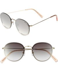 Vedi Vero - 52mm Round Sunglasses - - Lyst