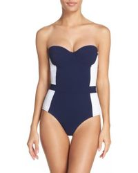 Tory Burch - 'lipsi' Underwire One-piece Swimsuit - Lyst