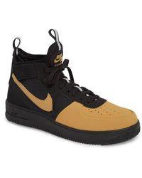 Nike - Air Force 1 Ultraforce Mid Tech Sneaker - Lyst