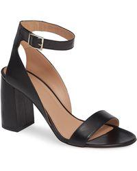 LEWIT - Guilia Block Heel Sandal - Lyst